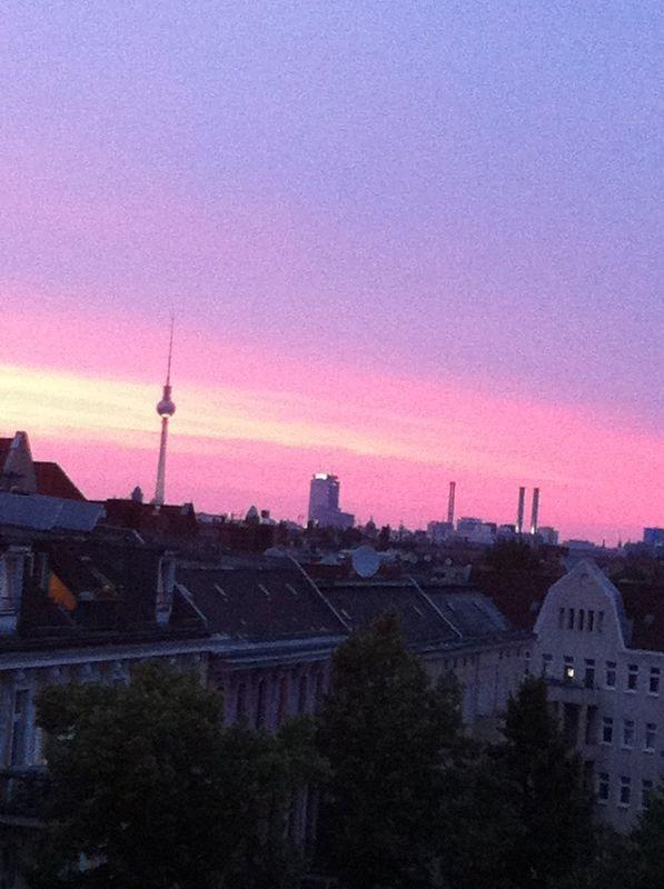 über den Dächern von Berlin Neukölln